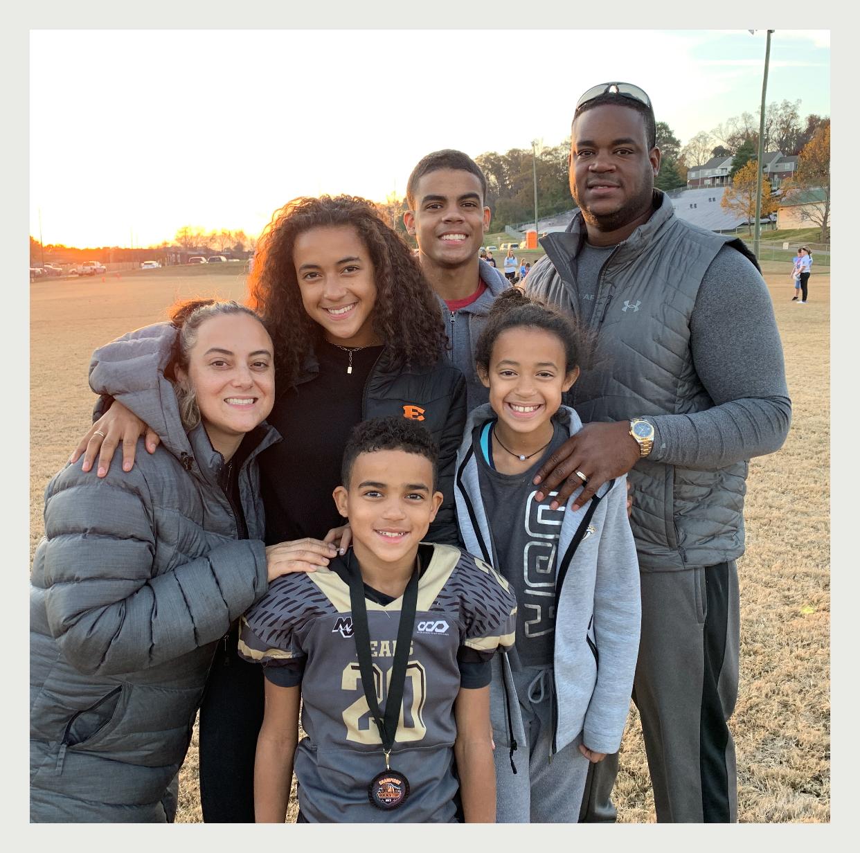 Gerard Bullock and Family